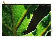 Vibrant Green Carry-all Pouch