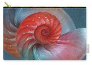Vibrant Nautilus Pair - Horizontal Carry-all Pouch