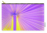 Vibrant Palm Frond Square Carry-all Pouch