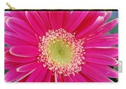 Vibrant Pink Gerber Daisy Carry-all Pouch