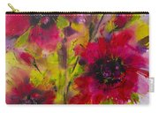 Vibrant Pink Poppies Carry-all Pouch