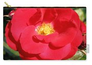Vibrant Red Rose Carry-all Pouch
