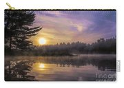 Vibrant Sunrise On The Androscoggin River Carry-all Pouch