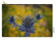 Vibrant Thistles Carry-all Pouch