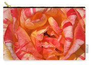 Vibrant Two Toned Rose Carry-all Pouch
