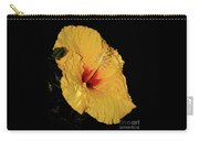 Vibrant Yellow Hibiscus By Kaye Menner Carry-all Pouch