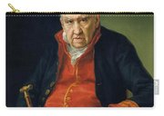 Vicente Portaia Lopez  Felix Maximo Lopez First Organist Of The Royal Chapel 1820 Carry-all Pouch