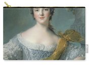 Victoire De France At Fontevrault Carry-all Pouch by Jean Marc Nattier