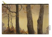 Victor Coleman Anderson 1882  1937 Wet Leaves Carry-all Pouch