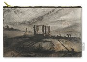 Victor Hugo   Gallows Of Montfaucon   1847 Carry-all Pouch