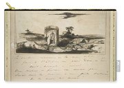 Victor Hugo   Landscape   1837 Carry-all Pouch