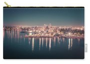 Victoria British Columbia City Lights View From Cruise Ship Carry-all Pouch