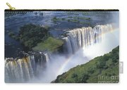 Victoria Falls Rainbow Carry-all Pouch by Sandra Bronstein