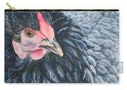 Victoria, Lavender Cochin Chicken Carry-all Pouch