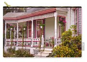 Victorian - Belvidere Nj - The Beauty Of Spring  Carry-all Pouch by Mike Savad