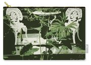 Victorian Garden Poster Carry-all Pouch