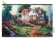 Victorian House With Gardens Carry-all Pouch