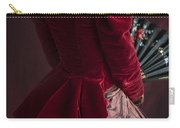Victorian Lady In A Red Bussle Ensemble Carry-all Pouch