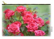 Victorian Rose Garden - Digital Painting Carry-all Pouch