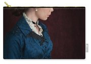 Victorian Woman Portrait In Profile  Carry-all Pouch