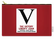 Victory Liberty Loan Industrial Honor Emblem Carry-all Pouch