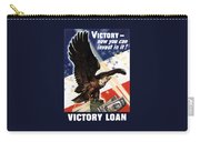 Victory Loan Bald Eagle Carry-all Pouch