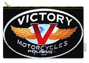 Victory Motorcycles Emblem Carry-all Pouch