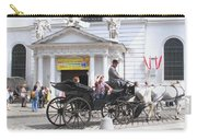 Vienna Horse And Carriage Carry-all Pouch