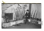 Viet Nam Vet John Dane With His Weapons Collection American Fork Utah 1975 Carry-all Pouch