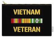 Vietnam Veteran Ribbon Bar  Carry-all Pouch