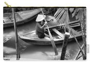 Vietnamese Woman Boat Ores Really For Tourist Mekong Delta  Carry-all Pouch