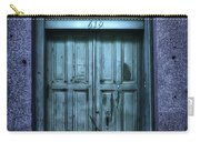 Vieux Carre' Doorway At Night Carry-all Pouch