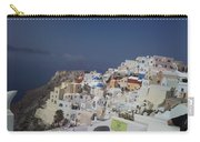Viev Of Oia In Santorini Carry-all Pouch