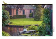 View At Old Church  In Dutch Village Carry-all Pouch