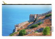 View Far Out To Sea From Alanya Castle Carry-all Pouch