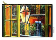 View From A French Quarter Balcony Carry-all Pouch by Diane Millsap