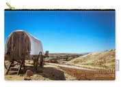 View From A Sheep Herder Wagon Carry-all Pouch