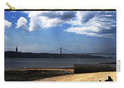 View From Across The Tagus Carry-all Pouch