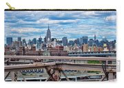 View From Brooklyn Bridge Carry-all Pouch