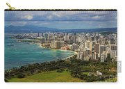 View From Diamond Head Carry-all Pouch