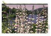 View From The Bridge Of Flowers Carry-all Pouch