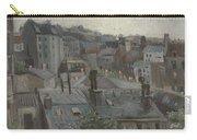 View From Vincent S Studio Paris, June 1886 Vincent Van Gogh 1853  1890 Carry-all Pouch