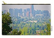 View From Wealthy Neighborhood In Hills Of Santiago-chile Carry-all Pouch