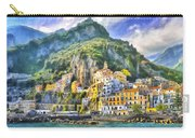 View Of Amalfi Carry-all Pouch