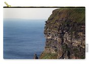 View Of Aran Islands And Cliffs Of Moher County Clare Ireland  Carry-all Pouch