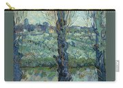 View Of Arles, Flowering Orchards Carry-all Pouch