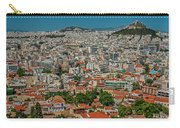 View Of Athens, Greece, From The Parthenon Carry-all Pouch