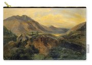 View Of Bagneres De Luchon. Pyrenees Carry-all Pouch