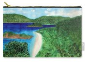 View Of Beach In St John Us Virgin Islands  Carry-all Pouch