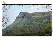 View Of Benbulben From Glencar Lake Ireland Carry-all Pouch